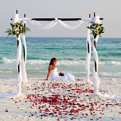Sri Lanka Romantic Beach Wedding