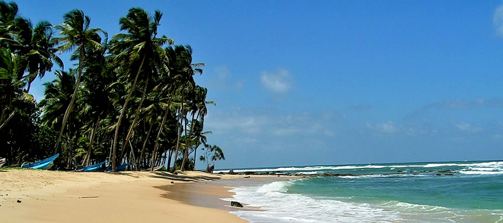 beaches Sri Lanka is known